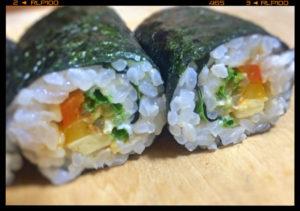 ベジ巻き寿司